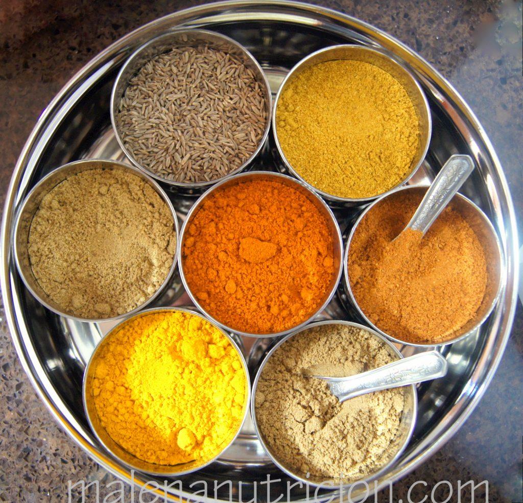 Spices: flavor with less salt