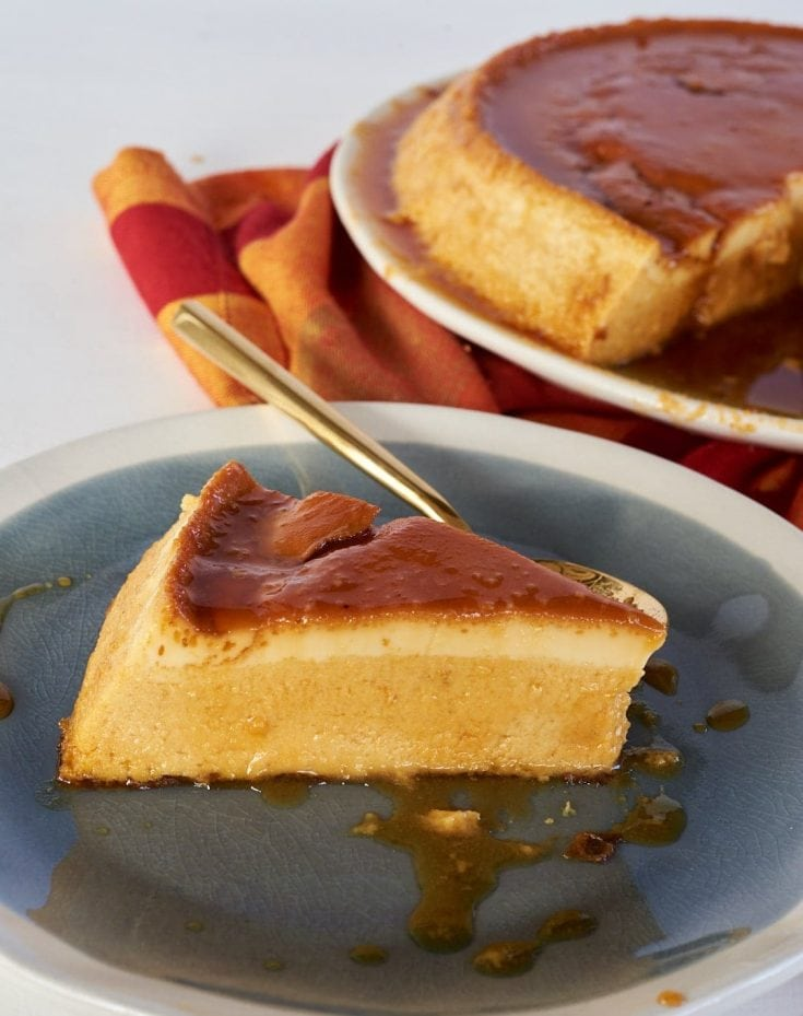 Pumpkin Flan With Cream Cheese Malena Nutricion