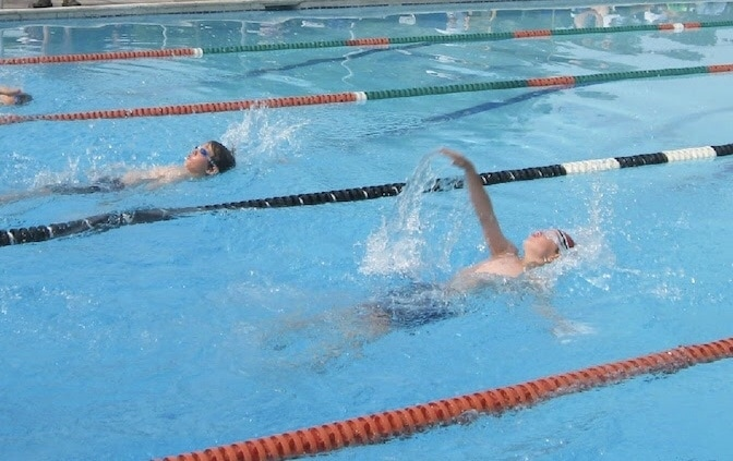 swimming is a great sports for children