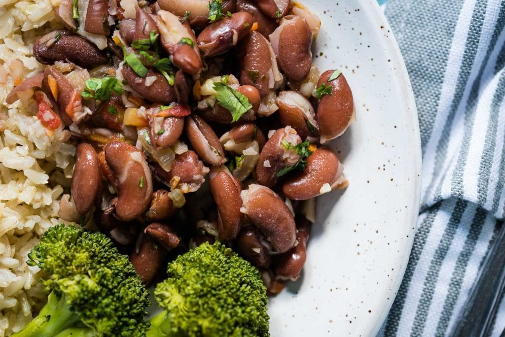 Sprouted Red KidSprouted Kidney beans made with sofrito and Knorr Selects Vegetable Granulated Bouillon